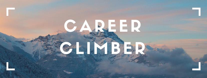 career climber banner