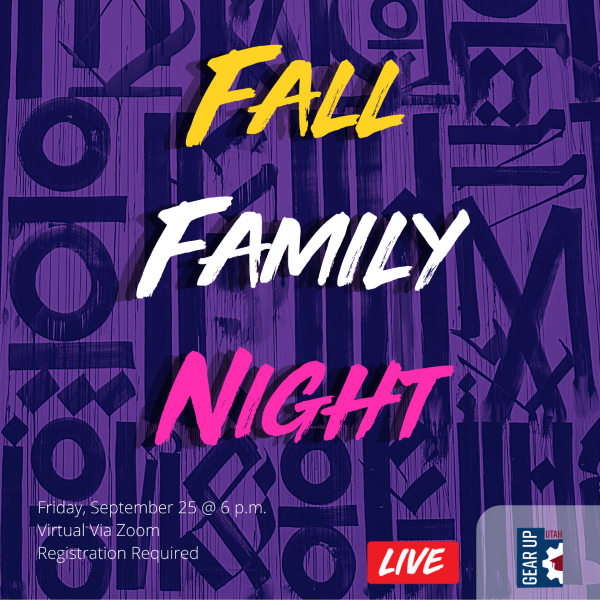 Virtual Fall Family Event