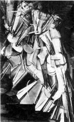 Figure 2: Marcel Duchamp, Nude Descending a Staircase [No.2], 1912, oil on canvas.