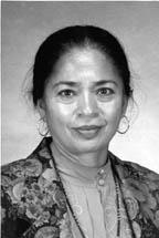 Photo of Dr. Neila C. Seshachari.