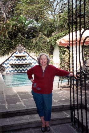 Raquel Valle-Sentíes at her home in Laredo, Texas.