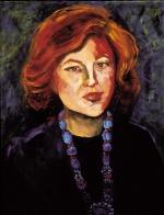 """""""Self Portrait,"""" Oil Painting, 24"""" x 36"""""""