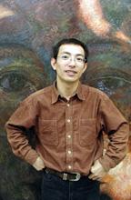 Photo of artist Zhang, Chenchu.