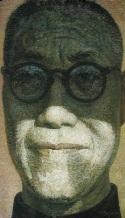 "Painting, ""Pan, Tiam Shou,"" 2002, 127 cm x 220 cm"