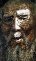 """Painting, """"Qi, Bai Shi,"""" 2002, 127 cm x 220 cm"""