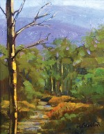 "Roberta Glidden; Snowbasin, Oil, 12"" x 9"""