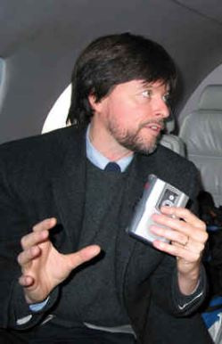 Photo of Ken Burns.