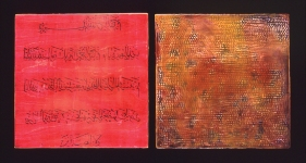 Untitled Diptych; 2005