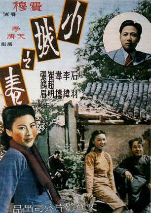 Fei Mu, director, [Springtime in a Small Town]  (1948)