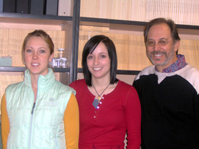 Breanna Bartosz, Kristen Gurr and Dr. Sam Zeveloff
