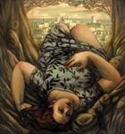 "Torpor, 2002, oil on canvas, 60"" x 48"""