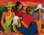 "La Regata, 2004, oil on canvas, 36"" x 48"""