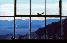 Broken Window to Black Rock Desert